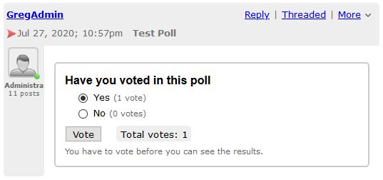 Poll - Creator